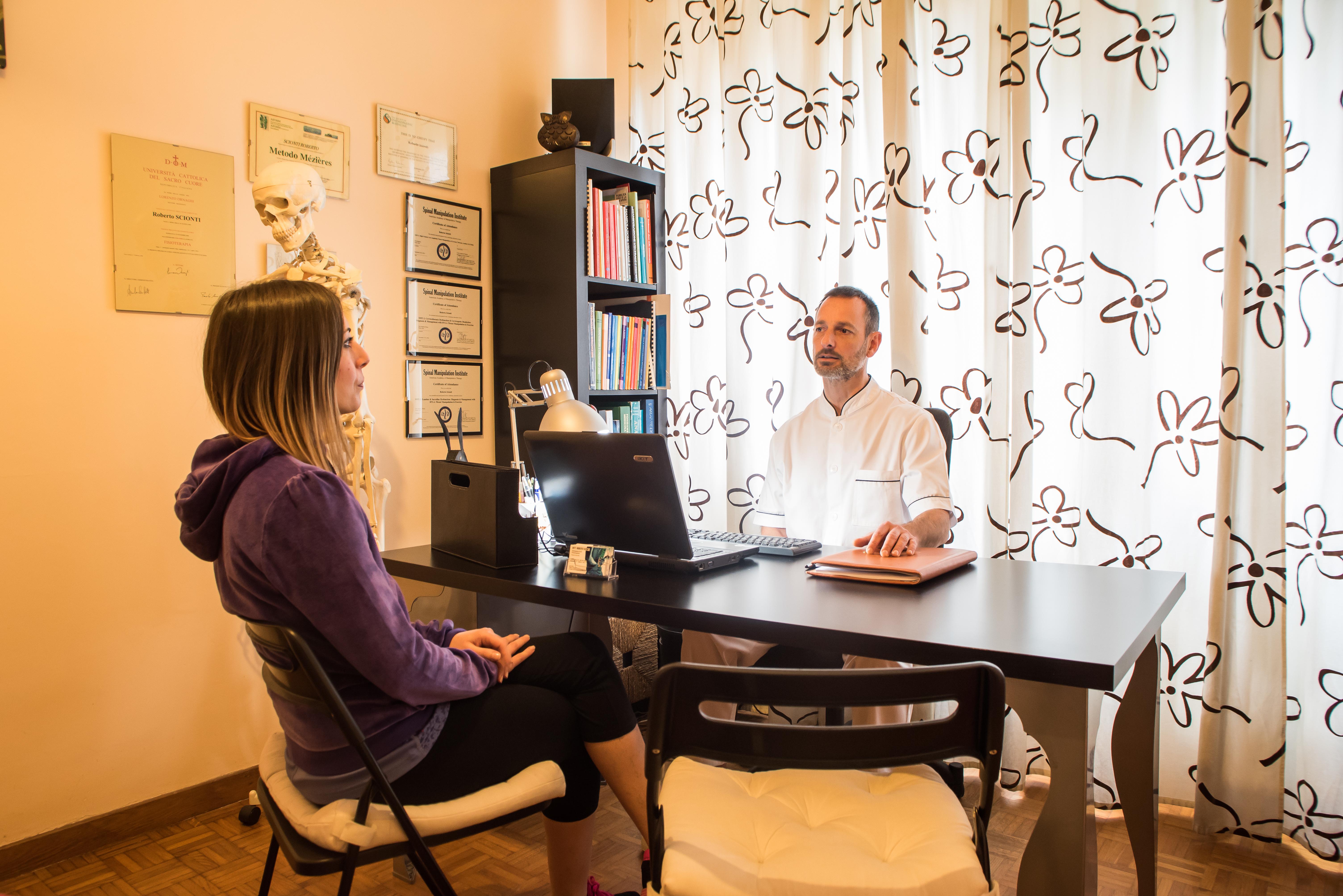 Seduta Osteopatica - Anamnesi del paziente